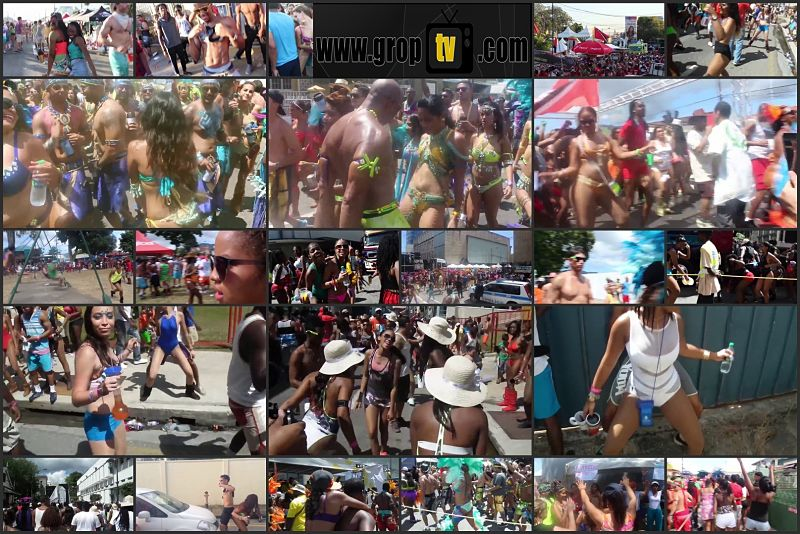Twerking ass and touching in carnival